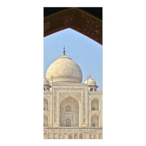 Taj Mahal, Agra, India Rack Card