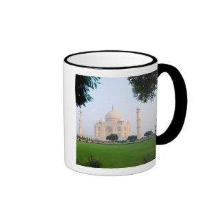 Taj Mahal at sunrise one of the wonders of the Ringer Mug