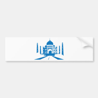 Taj Mahal Bumper Sticker
