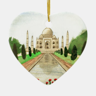 Taj Mahal Ceramic Ornament