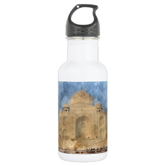 Taj Mahal in Agra India 532 Ml Water Bottle