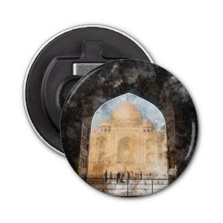 Taj Mahal in Agra India Bottle Opener