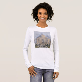 Taj Mahal in Agra India Long Sleeve T-Shirt