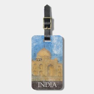 Taj Mahal in Agra India Luggage Tag