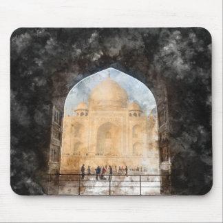 Taj Mahal in Agra India Mouse Pad