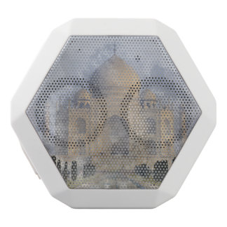 Taj Mahal in Agra India White Bluetooth Speaker