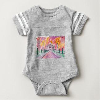 Taj Mahal India Baby Bodysuit