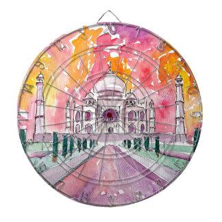 Taj Mahal India Dartboard