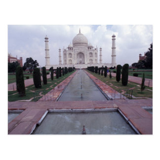 Taj Mahal India Postcard