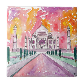 Taj Mahal India Tile