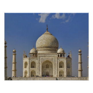 Taj Mahal mausoleum / Agra, India Poster