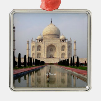 Taj Mahal Metal Ornament