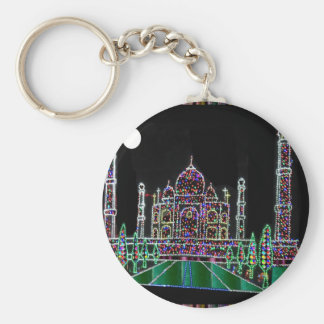 TAJ Mahal Moghul Architecture Heritage Building 99 Key Chain