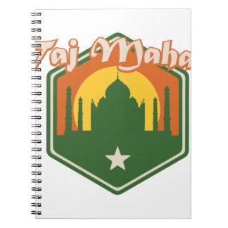 Taj Mahal Notebooks