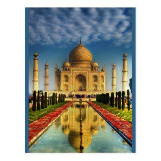 Taj Mahal Photo Postcard