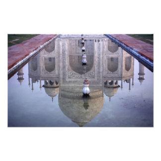 Taj Mahal reflection, Agra, Uttar Pradesh, Photo