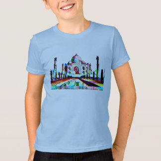 taj mahal seven wonders of the wold t-shirt