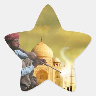 Taj Mahal Star Sticker