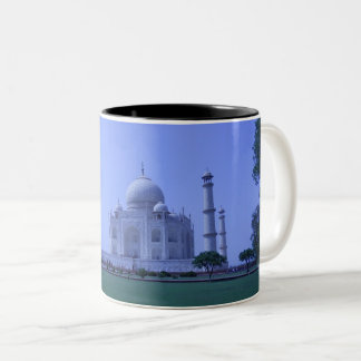 Taj Mahal Two-Tone Coffee Mug