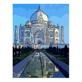 Taj Mahl Postcard