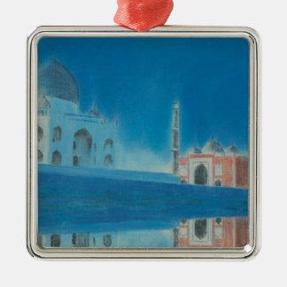Taj. Metal Ornament