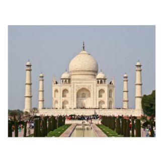 Taj On Postcard