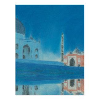Taj. Postcard