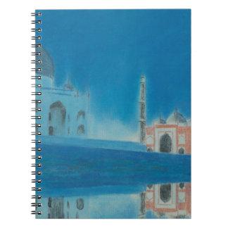 Taj. Spiral Notebook