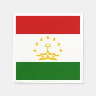 Tajikistan Flag Paper Napkin