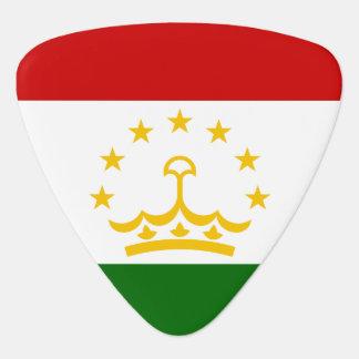Tajikistan Flag Plectrum