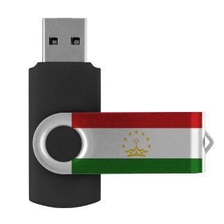 Tajikistan Flag USB Flash Drive
