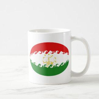 Tajikistan Gnarly Flag Mug