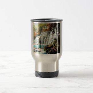 TAKAGI Glass Magic Lantern AMADARE WATERFALL Travel Mug