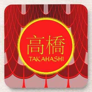 Takahashi Monogram Fire & Ice Drink Coaster