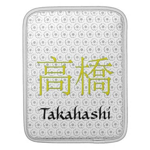 Takahashi Monogram iPad Sleeve