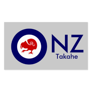 Takahe Air Force Roundel Pack Of Standard Business Cards