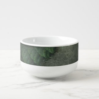 Takahe Semi-Abstract Soup Mug