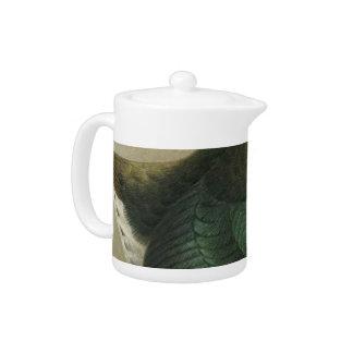 Takahe Semi-Abstract Teapot