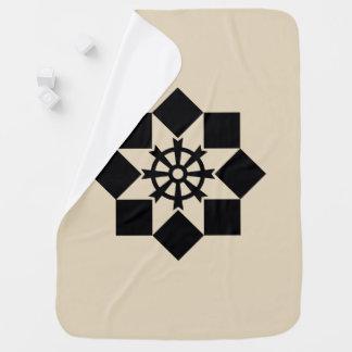 Takayanagi pinwheel swaddle blankets