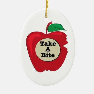 Take A Bite Christmas Ornaments