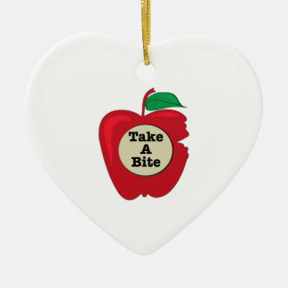 Take A Bite Christmas Tree Ornament