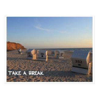 Take A BREAK - make times break Post Cards