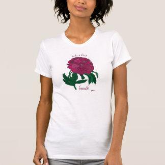Take a Deep Breath Peony T-Shirt