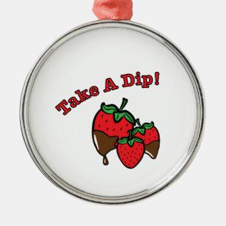 Take a Dip Christmas Ornament