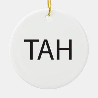 Take A Hike ai Ornaments
