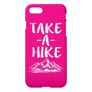 Take a hike funny phone case