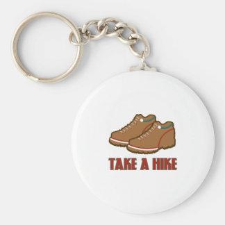 Take A Hike Keychains