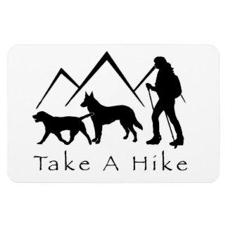 Take a Hike Magnet- Lab/Shepherd Magnet