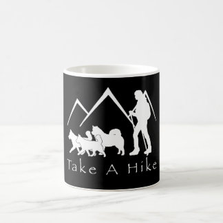 Take a Hike Mug- Husky/Malamute Coffee Mug
