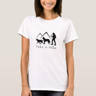 Take a Hike Shirt- Lab/Shepherd T-Shirt